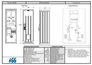 Szafa pomiarowa ZP-1 28 AGG