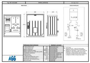 Szafa pomiarowa ZP-1 45-S AGG